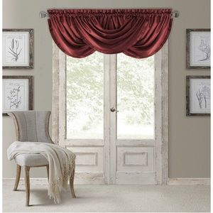 Lot of 3 Elrene Home Fashions Versailles Valance